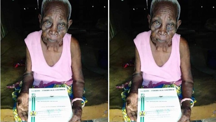 118-yr-old woman receives appointment as special adviser to Kolga LGA Vice Chairman in Bayelsa