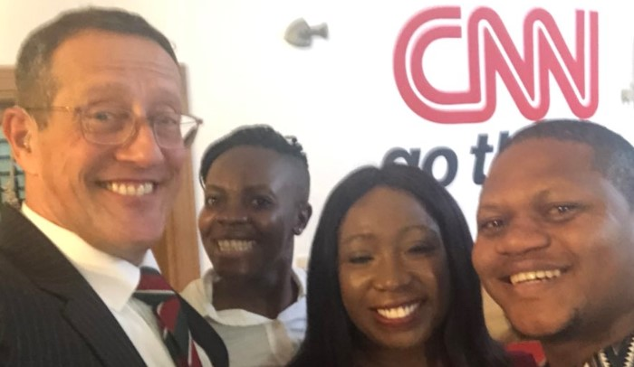 """""""Great to be back in Nigeria"""" – Richard Quest says as he arrives Lagos for the second time (Photo)"""