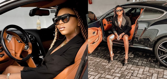 Stephanie Coker gets N72M Bentley Coupe as Valentine gift (Photos)