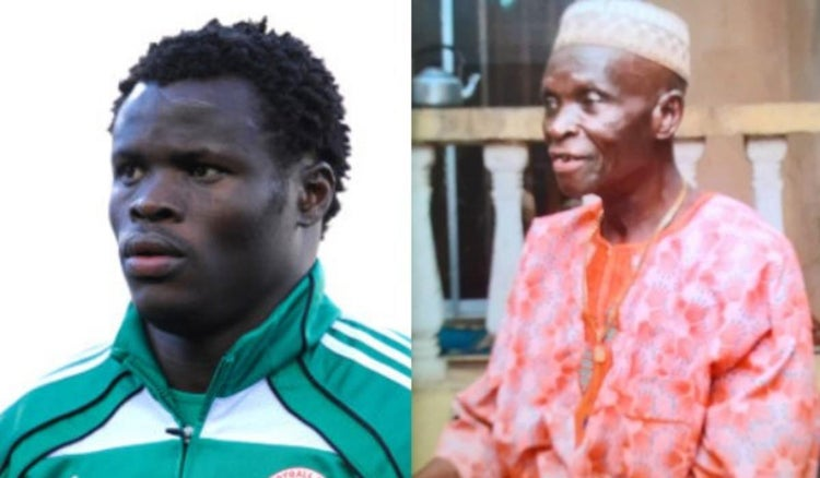 Former Super Eagles defender, Taye Taiwo announces his father is dead