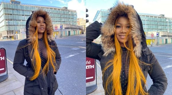 Tacha 'parades' around UK, promises to take her family there next after being denied VISA 13-years-ago