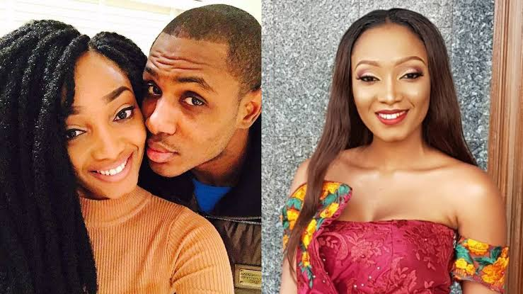 Odion Ighalo's wife stirs up breakup rumour, changing surname to maiden name on Instagram