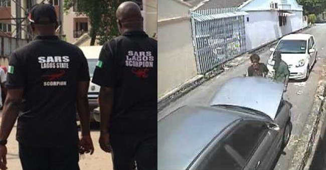 Man narrates how drama ensued when boys in his area broke into SARS vehicle and stole the battery