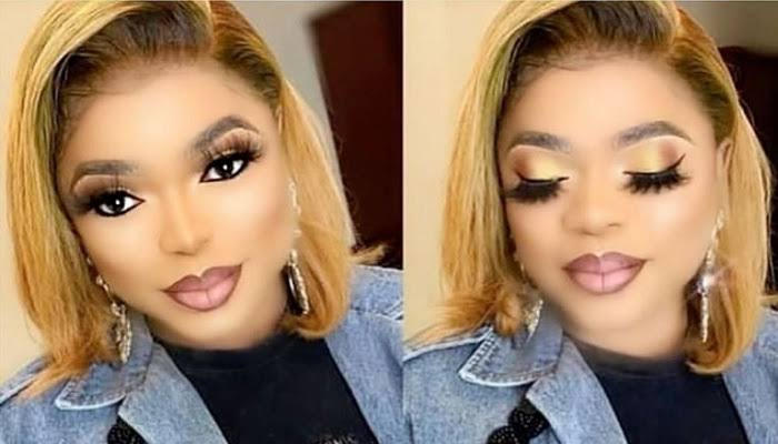 Bobrisky makes joke about fine boys on Instagram, says they are 'tempting' him