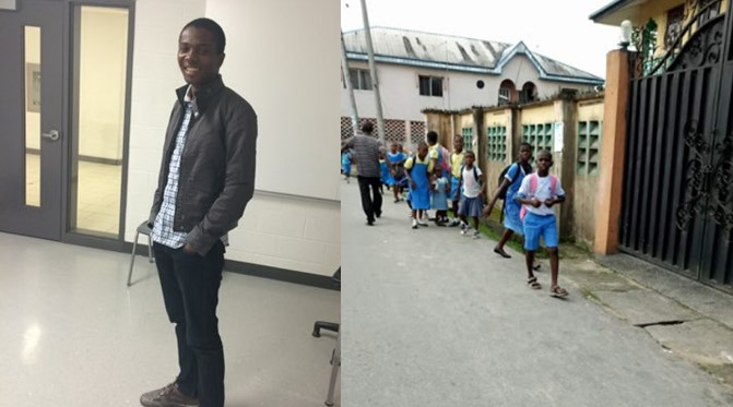 Milan-based Nigerian man begins search for woman who paid his school fees after he was sent home many years ago