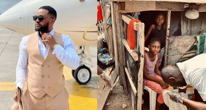 Williams Uchemba to provide accommodation and education for sisters living under telecom mast