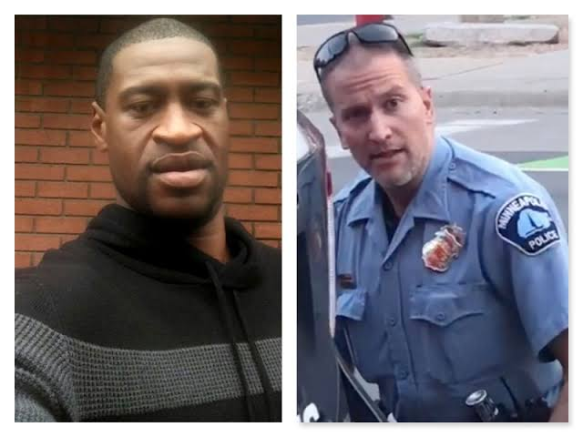Ex-US Police officer, Derek Chauvin who killed black man, Floyd by kneeling on him, charged with murder (VIDEO)