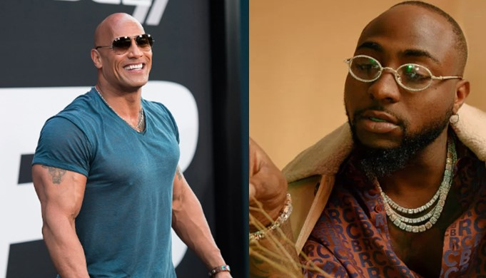 Davido is a good friend of mine, he makes the best African music – Dwayne 'The Rock' Johnson (Video)