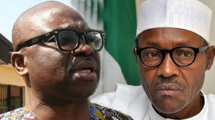Fayose slams Buhari for being a failure in his family and his party, says he's unfit to rule Nigeria