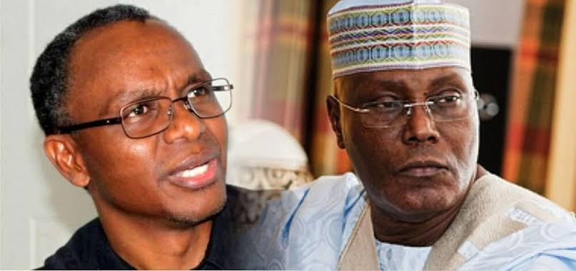 El-Rufai's sons attack Atiku on Twitter, after his son called out the Kaduna Governor for 'hypocritical comments'