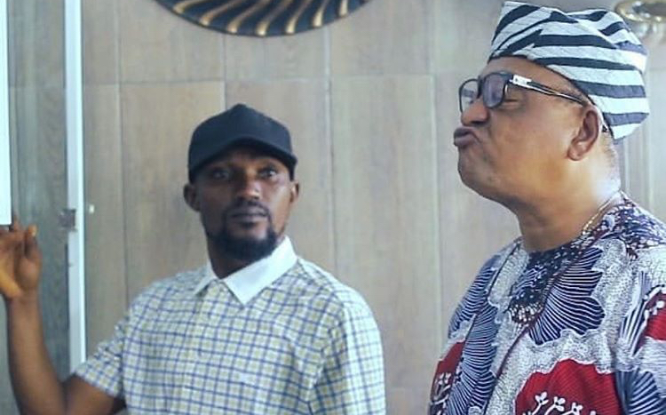 Nollywood actor, Jide Kosoko, 'threatens' to get photographer arrested