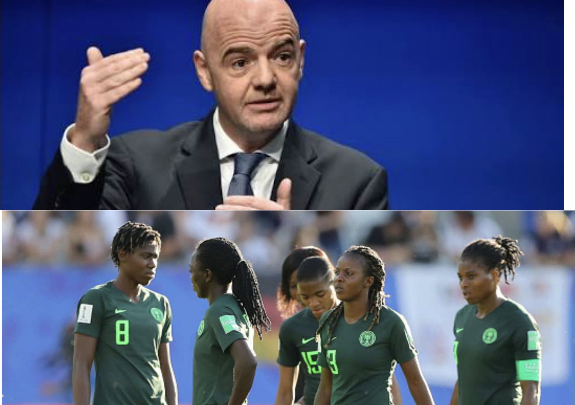 FIFA reveal they have already paid Super Falcons $700,000 they owe them despite NFF's claim