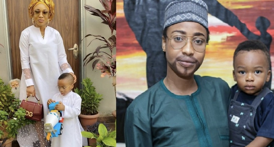 Tonto Dikeh praises herself on Father's Day, nicknames herself