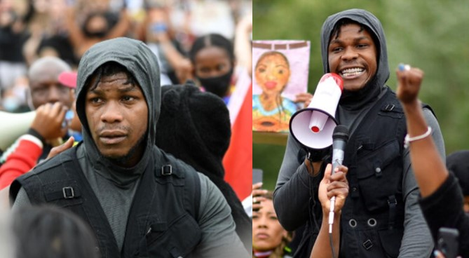 """""""I don't know if I'm going to have a career after this but I don't care"""" – John Boyega shares powerful message as he sheds tears at London protest over George Floyd's death"""