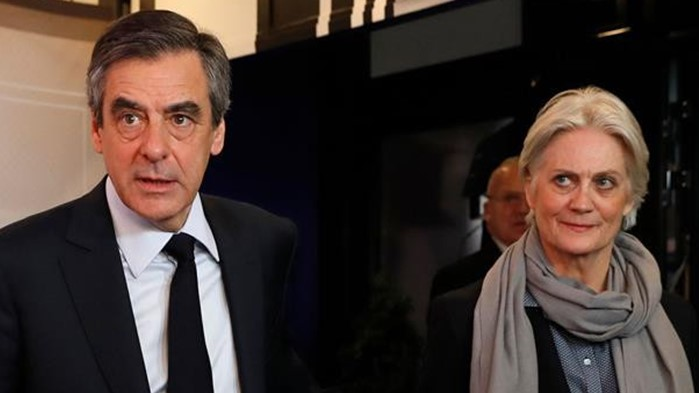 Former French Prime Minister, François Fillon and wife sentenced to jail over embezzlement