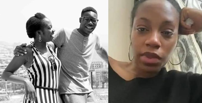 Khafi begs people with useful information on her brother's killer to speak up