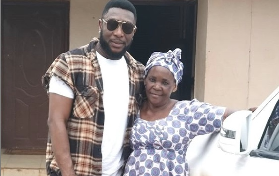 Actor Tchidi Chikere praises his nanny adopts her as his mother
