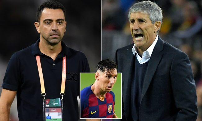 Barcelona legend, Xavi 'agrees' to take over coaching role from Setien