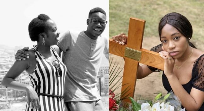 """""""I love you now and forever Alex"""" – Khafi Kareem says as she buries younger brother"""