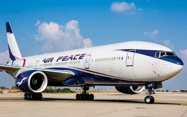 Air Peace fires over 70+ of their pilots