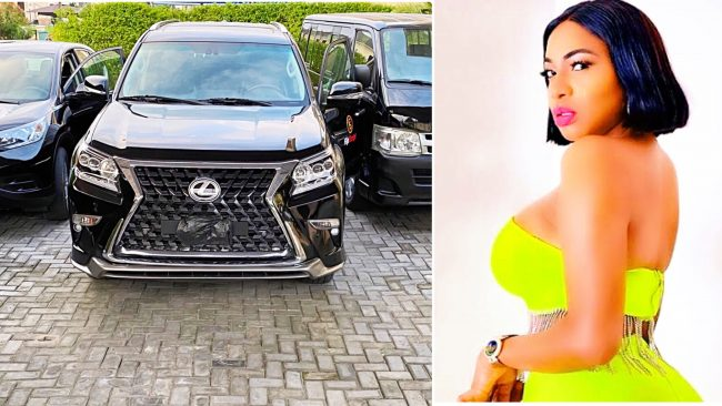 Actress Chika Ike purchases new cars for her company, Flip Script Studios (PHOTOS)
