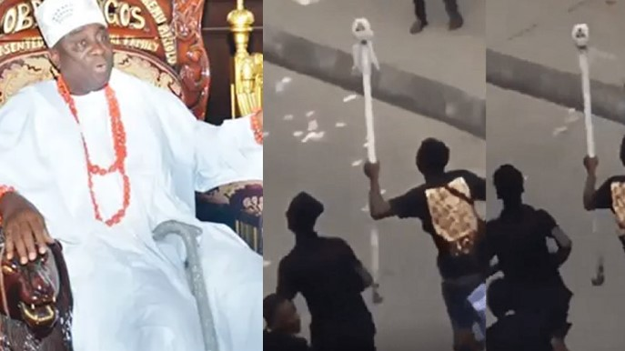 Nigerians React As Oba Of Lagos Staff Is Listed For Sale On Jiji