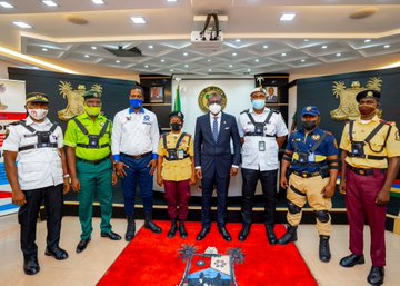 Babajide SanwoOlu has  said that law enforcement 0fficers in the state will now make use of body camera