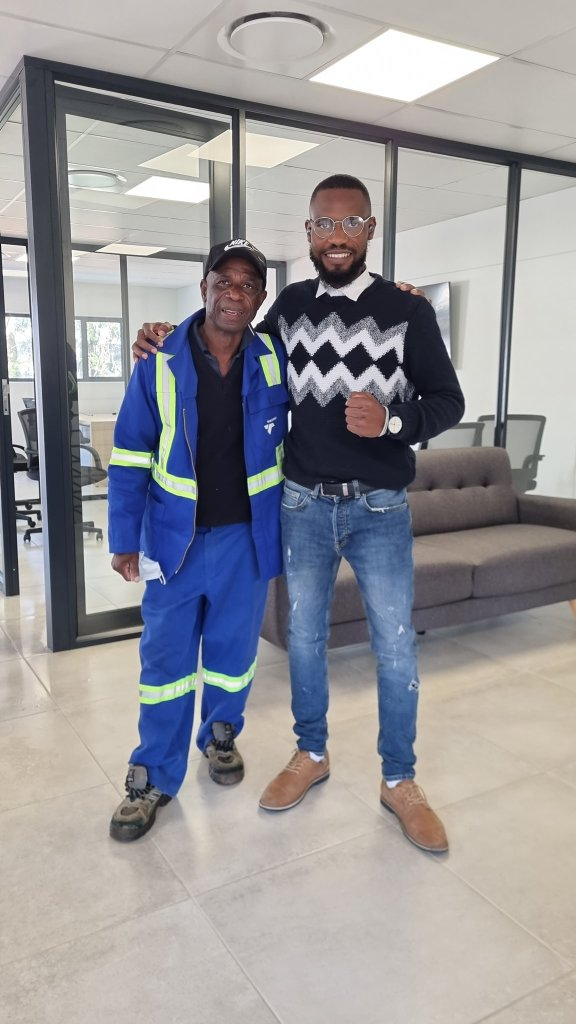 Man employs his father to work for him, says it is a dream come true