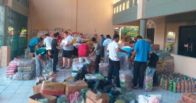 Diocese de Sobral arrecada mais de 15 toneladas de alimentos para refugiados venezuelanos
