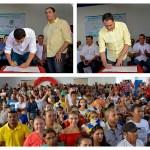 Governador assina Ordem de Serviço da estrada do Buraco do Tatu, em Bom Jardim