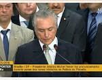Presidente interino Michel Temer dá posse aos novos Ministros – ao vivo