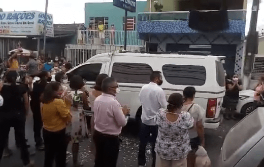 Empresário Inaldo Barbosa é sepultado no Cemitério São José em Surubim