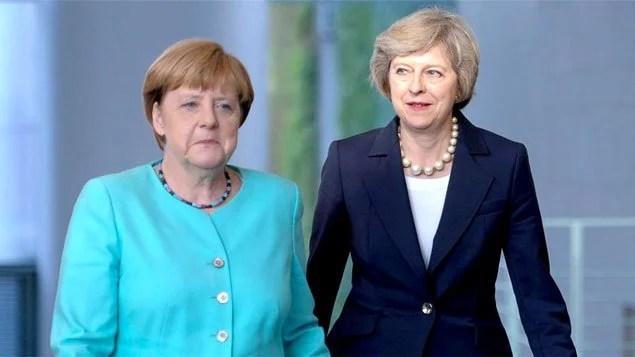 Chanceler alemã e premiê britânica fazem coro contra discriminação a imigrantes