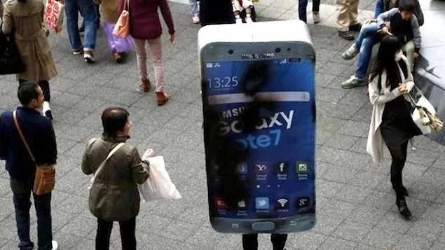 Samsung diz que baterias causaram fogo em Galaxy Note 7