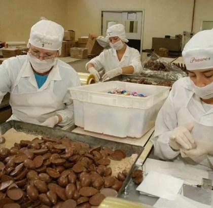 Vaga-Vagas de fabrica de chocolate