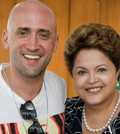 Paulo Gustavo e Dilma Rousseff