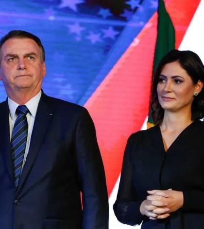 Bolsonaro-Michele Bolsonaro-Bolsonaro está solteiro
