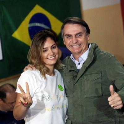 Bolsonaro-Michele Bolsonaro-Casamento de Bolsonaro
