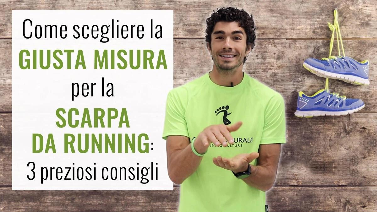 new styles 27ba6 e8137 Come scegliere la Giusta Misura per la Scarpa da Running ...