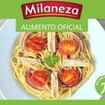 Esparguete integral Milaneza Natura com peru