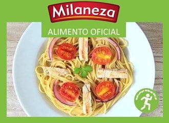 Espaguete integral Milaneza Natura com peru