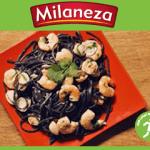 Linguine com tinta de choco Milaneza