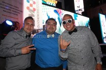 Dj Carlito / Richard Chiriboga (owner CorrienteLatina.com) / DJ Smiley Miami