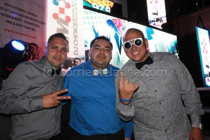 Dj Carlito / Richard Chiriboga (owner CorrienteLatina.com) / DJ Smiley Miami