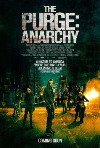 THE PURGE: ANARCHY – Movie Review