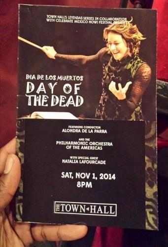 Day of the dead – Alondra De La Parra