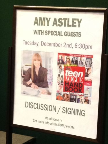 Teen Vogue Handbook Panel Discussion and Book Signing Review