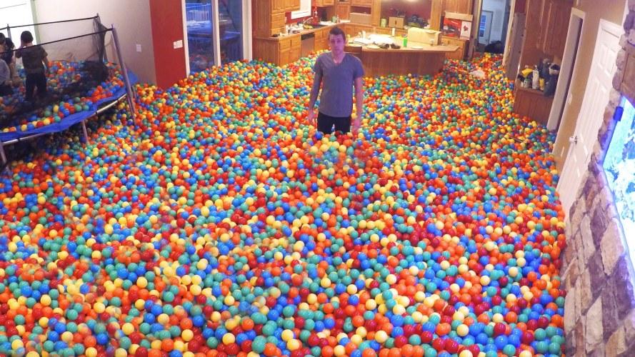 Crazy Plastic Ball PRANK!! aka the Divorce Starter