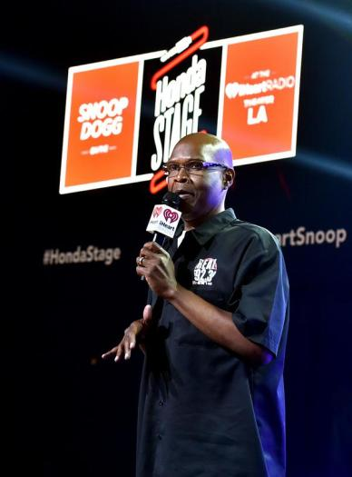 BURBANK, CA - MAY 11: Radio personality Big Boy performs onstage during Snoop Dogg Live on the Honda Stage at iHeartRadio Theater on May 11, 2015 in Burbank, California. (Photo by Kevin Winter/Getty Images for iHeartMedia)