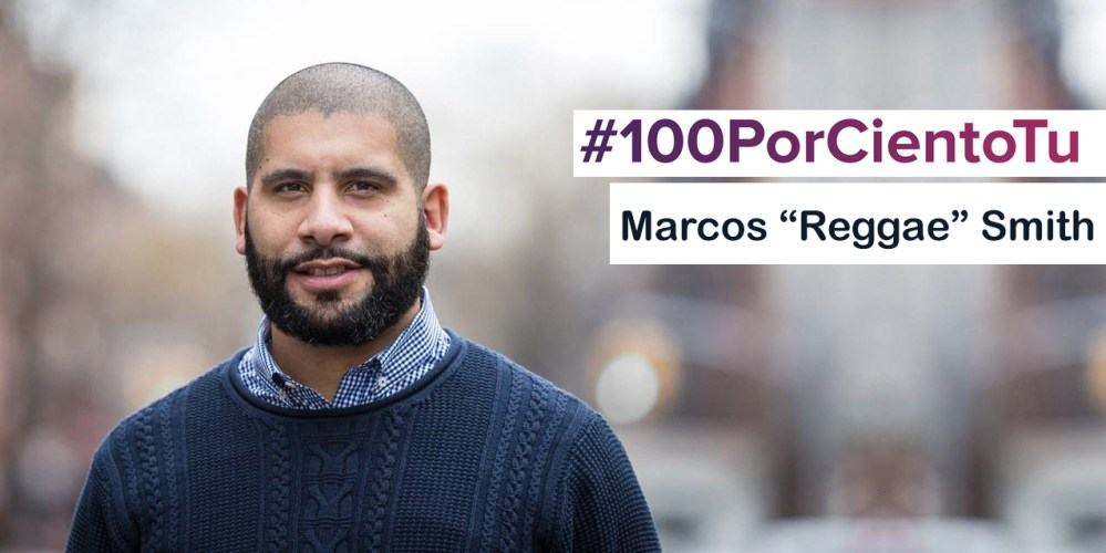"Marcos ""Reggae"" Smith shares some styling tips for men! #100PorCientoTu"